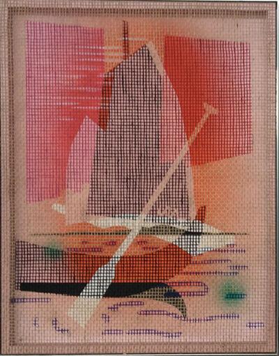 "David Renggli, '""Desire Painting"" (pad and reflectioninhio)', 2019"