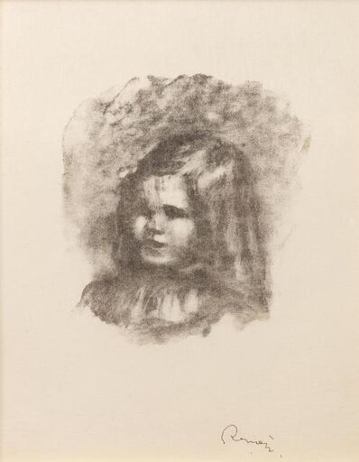 Pierre-Auguste Renoir, 'Claude Renoir, turned left (Claude Renoir, tourne a gauche), from the suite Douze Lithographies de Pierre-Auguste Renoir', 1904