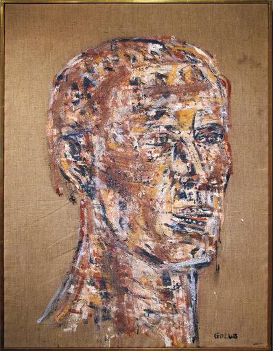 Leon Golub, 'Head of a Warrior', 1970