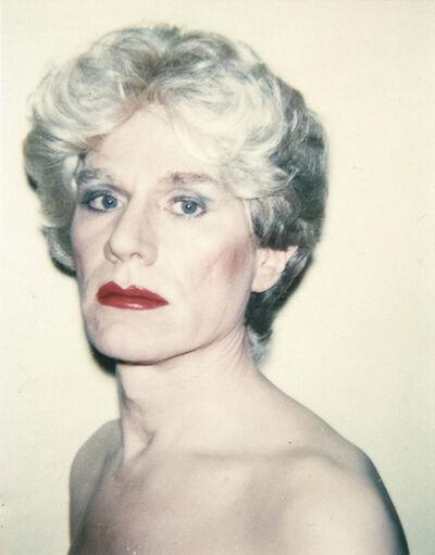 Andy Warhol, 'Self Portrait in Drag', 1980-1982