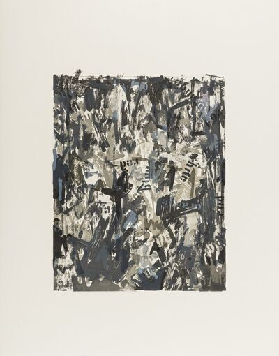 Jasper Johns, 'False Start II', 1975