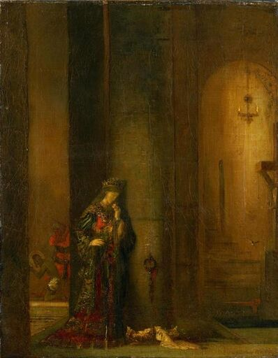 Gustave Moreau, 'Salome at the Prison', 1873-1876