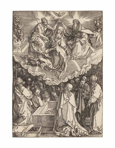 Albrecht Dürer, 'The Assumption and Coronation of the Virgin, from: The Life of the Virgin (B. 94; M., Holl. 206; S.M.S. 184)', 1510
