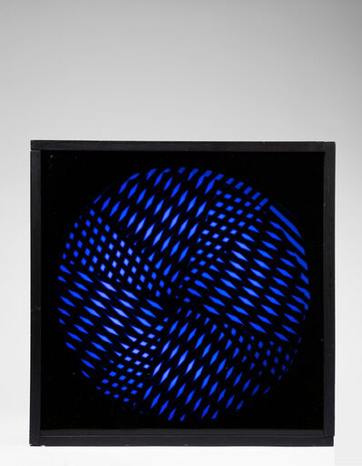 Grazia Varisco, 'Schema luminoso variabile 4/quarti', 1967