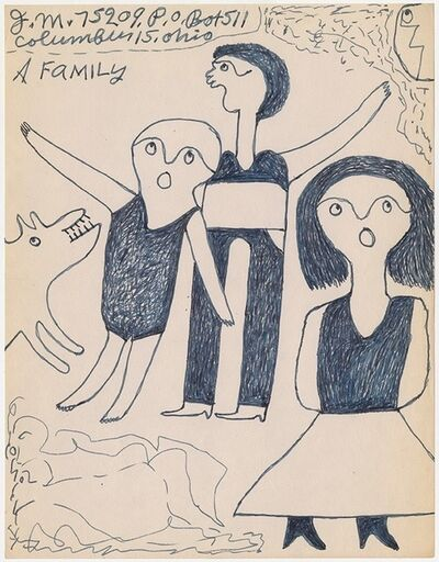 "Joe Massey, '""A family"" ', n.d"