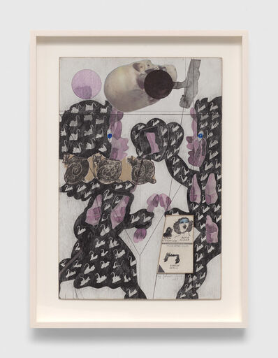 Ray Johnson, 'Untitled (Cupids with Skull', 1974-1988