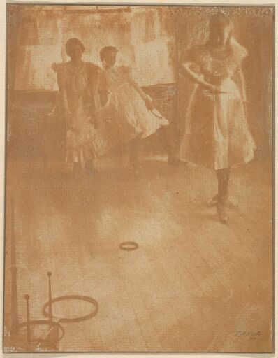 Clarence H. White, 'The Ring Toss', 1899