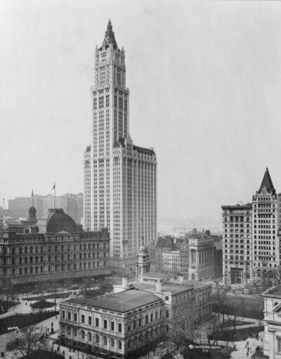 Cass Gilbert, 'Woolworth Building', 1911-1913