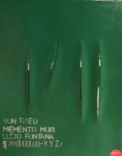 Wulf Treu, 'Fontana Momento Mori', 2019