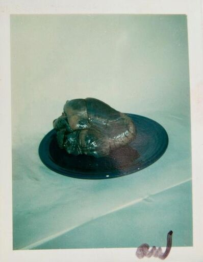 Andy Warhol, 'Andy Warhol, Polaroid Photograph of a Heart on a Plate, 1981', 1981