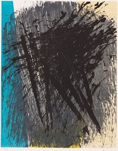Hans Hartung, 'O.T. (Explosion)', 1970-1980
