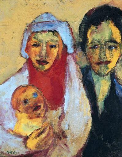 Emil Nolde, 'Junge Familie (Young Family)', 1949