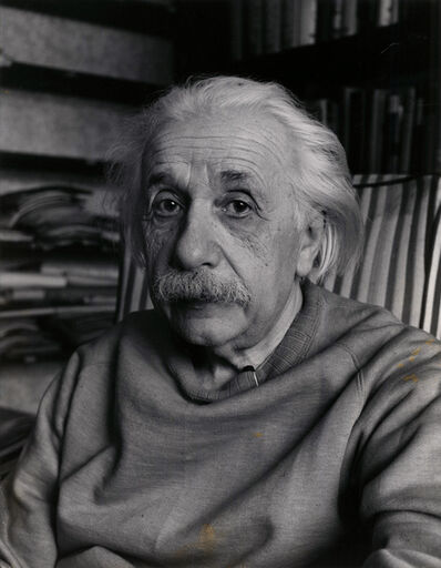 Alfred Eisenstaedt, 'Albert Einstein, February, 1948 in Princeton, N.J.', 1948