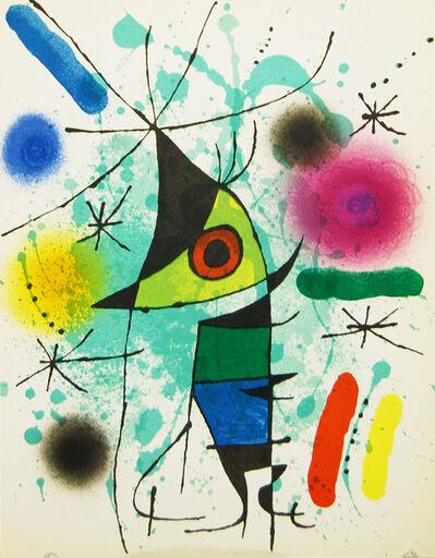 Joan Miró, 'Litografia Original XI', 1972