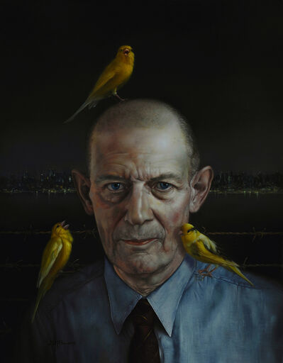 David Michael Bowers, 'Robert Stroud (Birdman of Alcatraz)', 2018