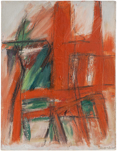 Jack Tworkov, 'Sketch for Queen', 1957