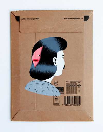 """Grip Face, '""""sub. portrait #4""""'"""