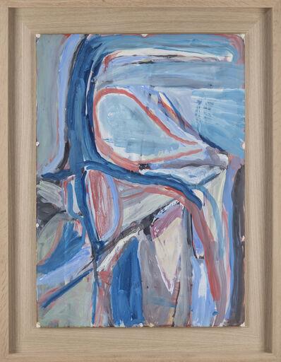 Bram van Velde, 'Sans titre, La Chapelle-sur-Carouge', 1963