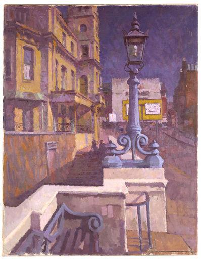 Cecil Birtwhistle, 'Street scene, Richmond, London'