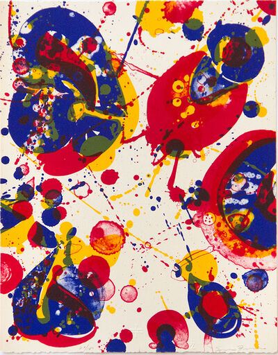 Sam Francis, 'Untitled #2 (from Pasadena Box)', 1963