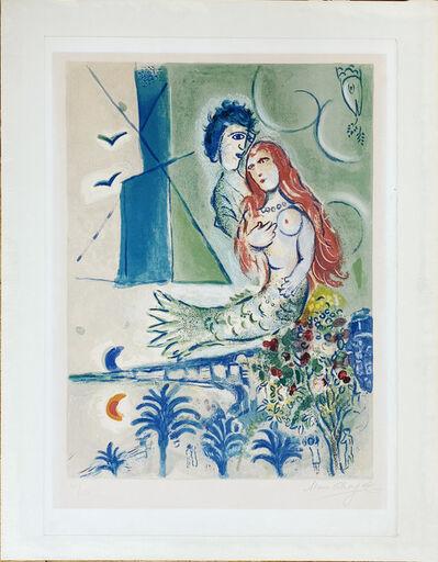 Marc Chagall, 'Sirène au Poète ', 1967