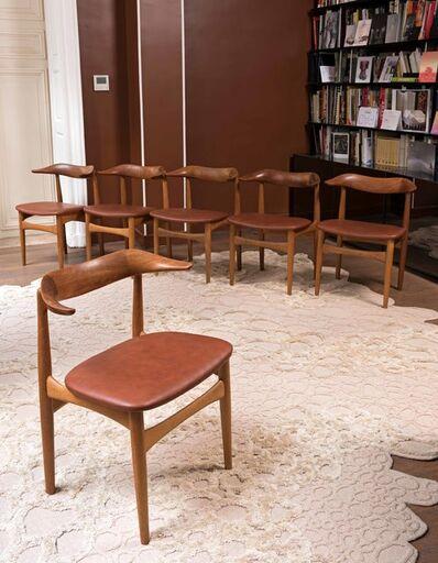 Knud Faerch, 'Modèle SM 521, Six chairs', 1969