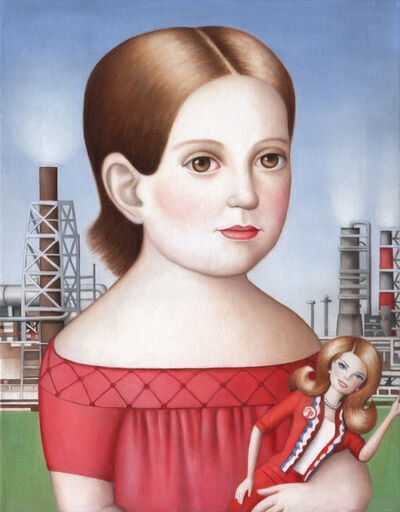 Amy Hill, 'Girl with Doll'