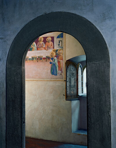 Robert Polidori, 'The Last Supper, or Communion of the Apostles by Fra Angelico, Cell 35, Museum of San Marco Convent, Florence, Italy', 2010
