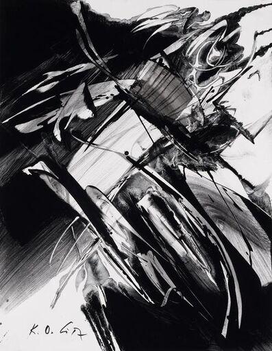Karl Otto Götz, '6 Variationen, No. 5', 1989
