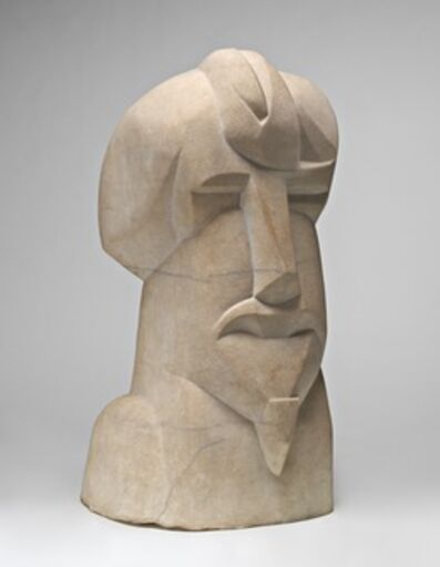 Henri Gaudier-Brzeska, 'Hieratic Head of Ezra Pound', 1914