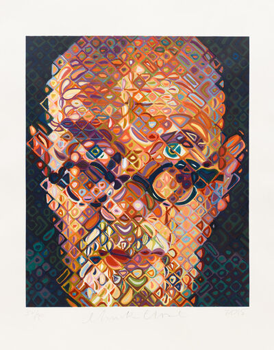 Chuck Close, 'Self-Portrait', 2015
