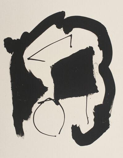 Robert Motherwell, 'Octavio Paz Three Poems 25', 1987