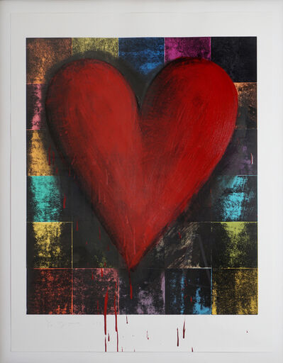 Jim Dine, 'Red Darkness (Red Heart)', 1993