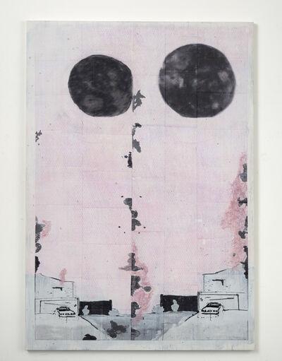 Michael Raedecker, 'static', 2019