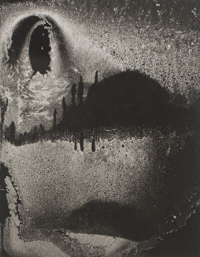 Minor White, 'Dumb Face, Frost on Window, Rochester, New York', 1959