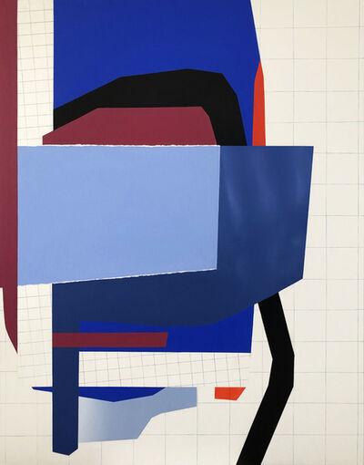 Ana Elena Garuz, 'Sin título (composición con cielo)', 2021