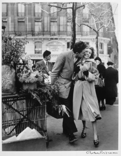 Robert Doisneau, 'Amoureux aux Poireaux, Paris', 1950