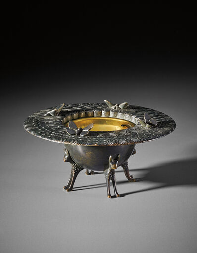 Armand-Albert Rateau, 'Ashtray, model no. 1901', circa 1930