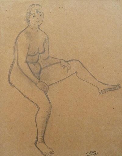 André Derain, 'Sitting Nude',  1880-1954