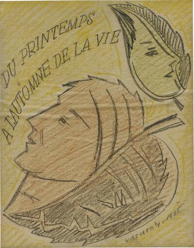 Victor Vasarely, 'Du printemps à l'automne de la vie', 1935