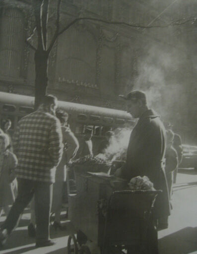 John Albok, 'Chestnut Man on 5th Avenue', 1947