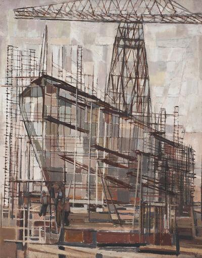Yvonne Cohen, 'Ship Building', 1954