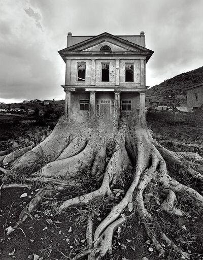 Jerry Uelsmann, 'Untitled (Tree House)', 1982