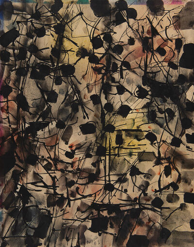 Jean-Paul Riopelle, 'Composition abstraite', 1953
