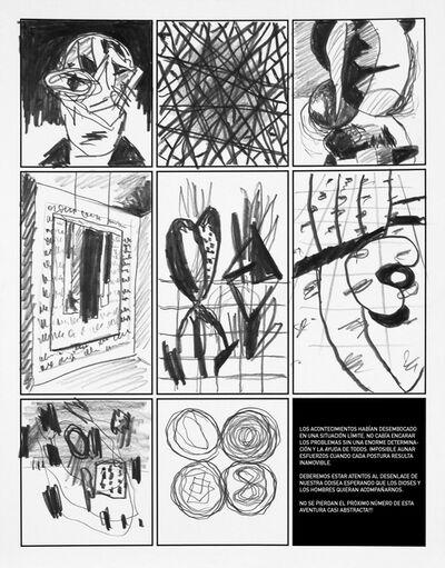 Jose M. Ciria, 'Dibujo XVI. Cómic Ataraxia.', 2016