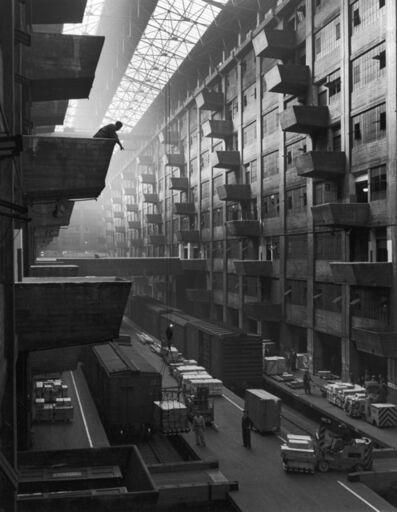 Andreas Feininger, 'Warehouse dock, Brooklyn', 1948