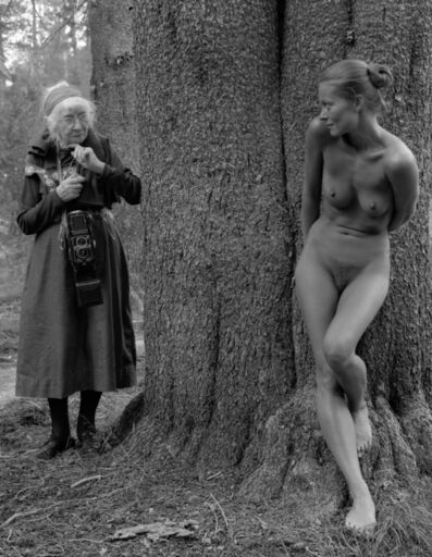 Judy Dater, 'Imogen and Twinka at Yosemite #7', 1974