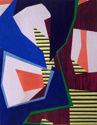 Laura Mosquera, 'Blue Triple Spin Green Split', 2013