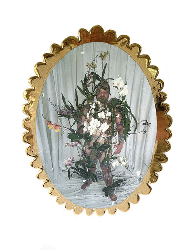 Anthony Sonnenberg, 'Face Plate (Orchid Armor)', 2021