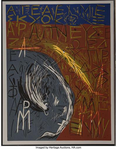 Mimmo Paladino, 'Untitled, from Official Arts Portfolio of the XXIVth Olympiad, Seoul, Korea', 1988